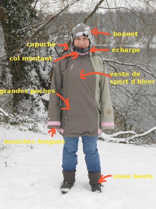 Vêtements d'hiver pour promenade des chiens